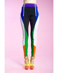 Shara Hayz Aero Scuba Leggings multicolor - Lyst
