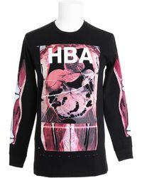 Hood By Air Black T-shirt - Lyst