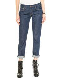 Genetic Los Angeles Alexa Boyfriend Jeans - Rockabilly - Lyst
