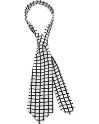 Scenery Label - Grid Man Tie - Lyst