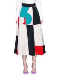 Roksanda | 'amara' Mélange Colourblock Maxi Skirt | Lyst