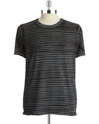 Kenneth Cole B Striped Tshirt - Lyst