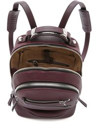 Mackage - Croydon Mini Backpack - Bordeaux - Lyst