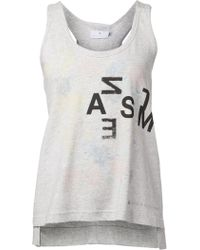 Adidas By Stella McCartney Printed Tank Top - Lyst