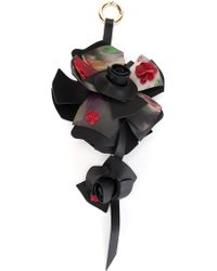 Elie Saab - Printed Flower Pendant - Lyst
