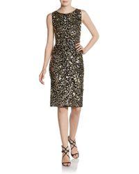Alice + Olivia Nance Sequin Dress - Lyst