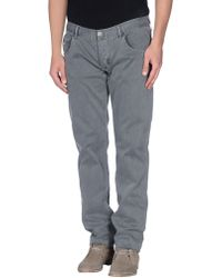 Armani Jeans - Casual Trouser - Lyst