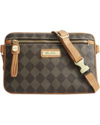 Marc Fisher Check Mate Belt Bag - Lyst