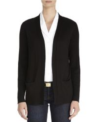 Jones New York Long Sleeve Cardigan - Lyst