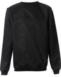 Libertine-libertine Vs Textured Sweatshirt - Lyst