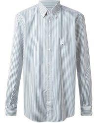 Etro Striped Buttondown Shirt - Lyst