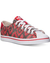 Adidas Originals Vulc Star Lo Print Casual Sneakers From Finish Line - Lyst