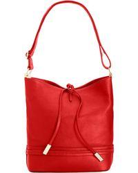 Ivanka Trump - Briarcliff Small Bucket Bag - Lyst