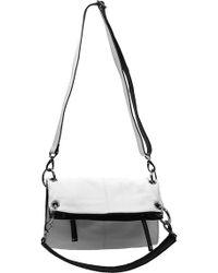 Chez by Cheryl Handbags   Denise Small Handbag W/Black Trim   Lyst
