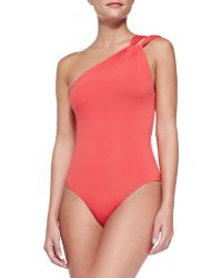 Clube Bossa One-shoulder One-piece Swimsuit - Lyst