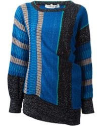 Yves Saint Laurent Vintage Asymmetric Sweater - Lyst