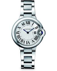 Cartier Ballon Bleu De Stainless Steel Bracelet Watch - Lyst