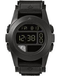 Nixon The Baja Watch black - Lyst