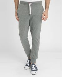 Sweet Pants Dark Mottled Grey Loose-Fit Joggers gray - Lyst