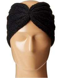 MICHAEL Michael Kors - Cable Knit Jersey Twisted Headband - Lyst