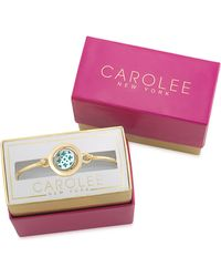 Carolee - Word Play I Love You More Mother Of Pearl Bracelet - Lyst