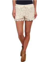 Stetson - 9612 Crochet Lace Boyfriend Fit Short - Lyst