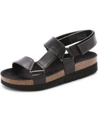 Marc Jacobs Leather Sandals - Lyst