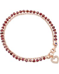 Biography - Spinel Heart Bracelet - Lyst