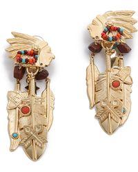 Gas Bijoux - Santa Fe Clip On Earrings - Lyst