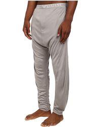 Emporio Armani Soft Interlock Loungewear Bottom - Lyst