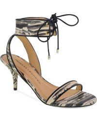 Chinese Laundry Ravish Two-Piece Ankle Strap Sandals - Lyst