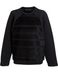 Proenza Schouler Jersey Baja Sweatshirt - Lyst