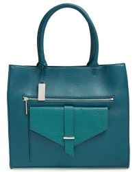 Halogen - 'belltown' Leather Tote - Lyst