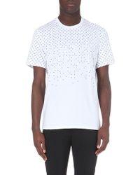 Neil Barrett Polka-dot Cotton T-shirt - For Men - Lyst