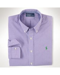 Polo Ralph Lauren Customfit Gingham Sport Shirt - Lyst