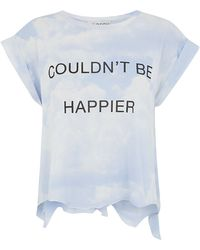 Wildfox Couldnât Be Happier T-Shirt - Lyst