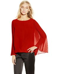 Vince Camuto Batwing Top - Lyst
