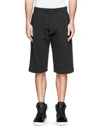 McQ by Alexander McQueen Mcq Tape Sweat Shorts - Lyst