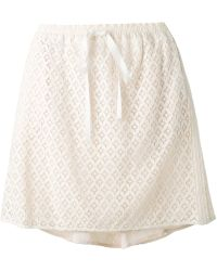 See By Chloé Macrame Lace Skirt - Lyst