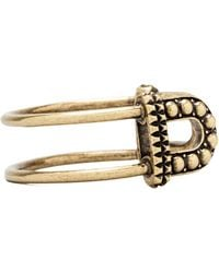 Giles & Brother - Skinny Textured Cortina Cuff in Metallic Bronze - Lyst