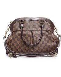 Louis Vuitton Preowned Damier Ebene Trevi Gm Bag - Lyst