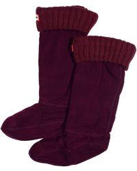 Hunter Socks - Lyst