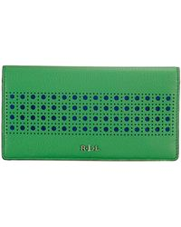 Ralph Lauren Leighton Slim Wallet - Lyst