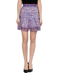Camilla & Marc Mini Skirt multicolor - Lyst