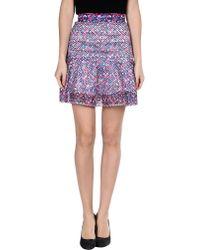 Camilla & Marc Mini Skirt - Lyst