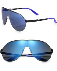 Carrera Rimless Metal Aviator Sunglasses - Lyst