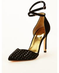 Ted Baker Rooben Studded Ankle Strap Court Shoes - Lyst
