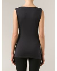 Jarbo - Wrap-Style Cotton-Blend Top - Lyst