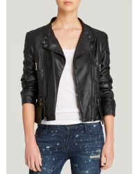 Black Orchid Jacket - Faux Leather Moto - Lyst