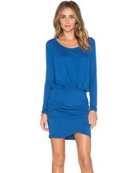 Bella Luxx - Shirred Mini Dress - Lyst